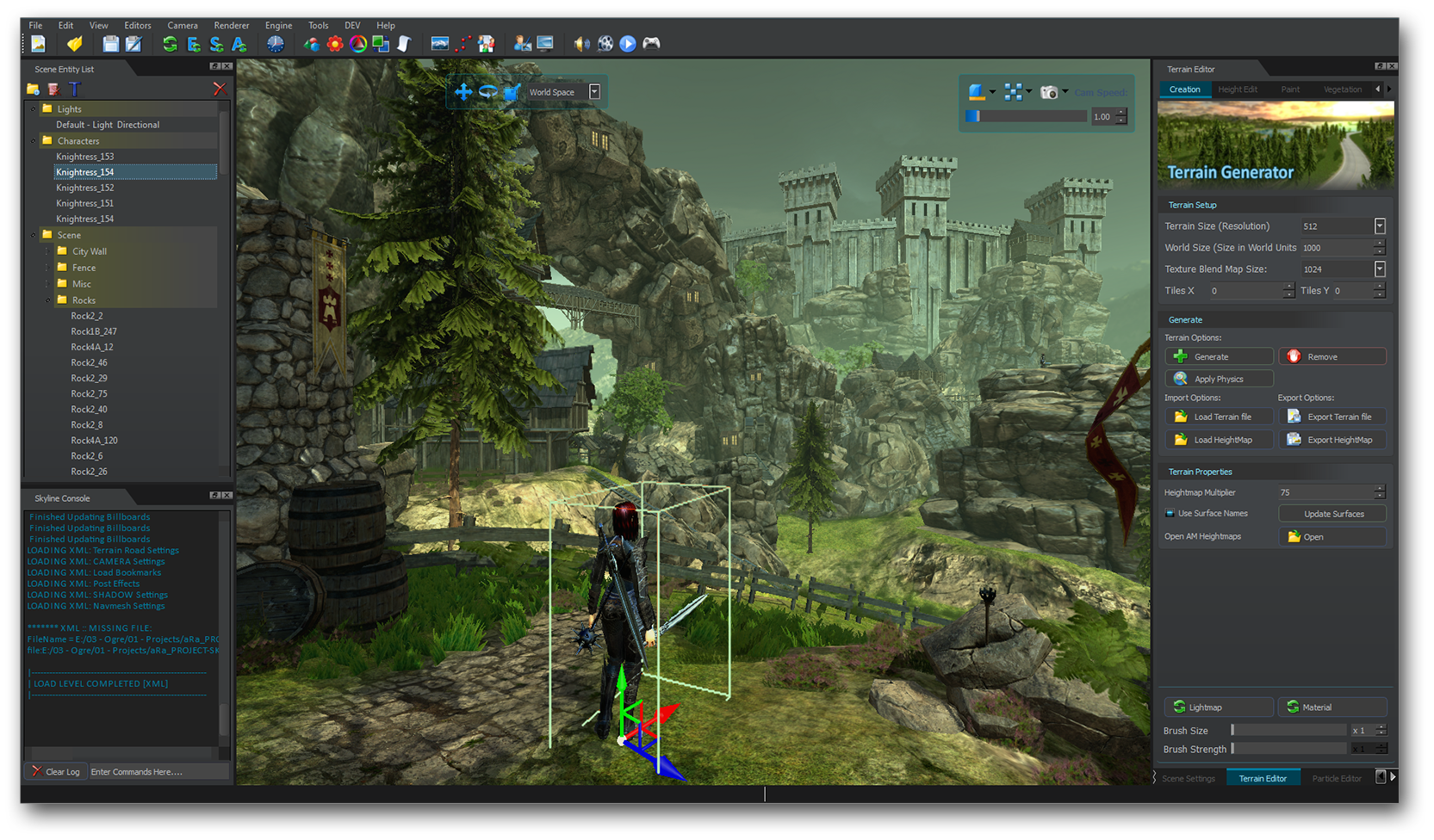 Game engine ogre open source 3d graphics engine 3d editor